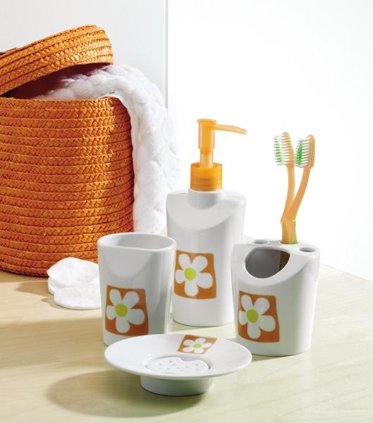 Bhd accesorios ba o for Accesorios bano naranja